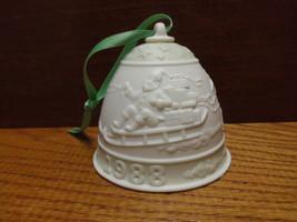Lladro 1988 Campana Navidad Christmas Bell Ornament - $7.99