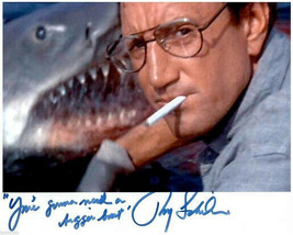 Roy Scheider Signed Photo 8X10 Rp Autographed Jaws With Inscription - $19.99