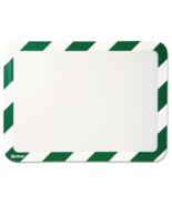 NEW Tarifold Inc High Visibility Safety Frame Display Pocket Magnet Gree... - $25.55