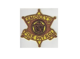 US Forest Service USFS Smokey's Fire Patrol Gold Ranger Badge 4in - $9.99
