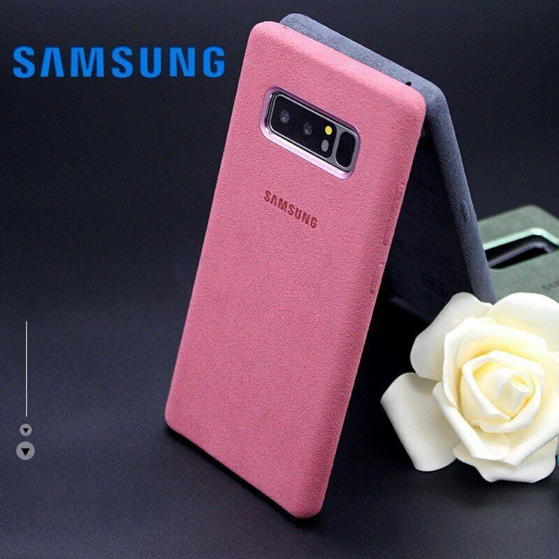 Samsung Galaxy Note 8 Case Original Official Genuine Suede Leather Protector