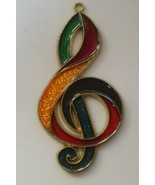 Enamel /Metal Multi-color Musical Note Sun Catcher  - $12.86