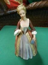 """Great Collectible ANDREA by SADEK Victorian Lady Figure..8"""" - £11.14 GBP"""