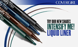 2 pack-CoverGirl Intensify Me! Liquid Eye Liner 315 Sapphire - $7.84