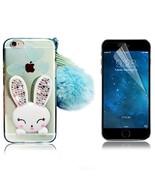 iPhone 5S Cute Case iPhone 5 SE Case Bonice Cartoon Rabbit Bling Diamond... - $16.90