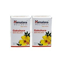 Himalaya Herbals Gokshura 60 Tablets For Mens Wellness Improves Sexual D... - $27.23+