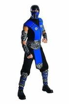 Rubies Mortal Kombat Sub Zero Halloween Cosplay Video Game Costume 880287 - $54.64