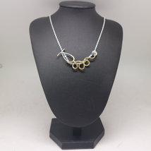 Silver Stethoscope Nurse Necklace image 2