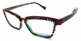 Alain Mikli Rx Eyeglasses Frames A02015 B0F3 53-15-140 Squares Multicolo... - $154.35