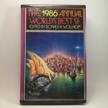 The 1986 Annual Worlds Best SF Edited Donald Wollheim BCE Hardback Book ... - $9.90