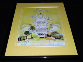 2006 Absolut Citron Vodka 11x14 Framed ORIGINAL Vintage Advertisement - $32.36