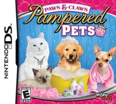 Paws & Claws Pampered Pets [Nintendo DS] - $3.91