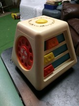 Vintage Fisher Price Learning Toy 1978 Motion Sound Spins Non-Glass Mirr... - $29.99