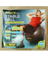 IGNITE by SPRI Weighted Stable Ball Stabilizing Base Compound 75 CM w/ A... - $37.62