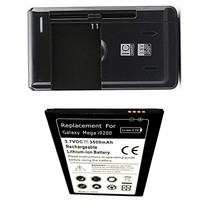 Samsung Galaxy Tab Q SM-T2558 Battery + External Charger Home Travel Wall House image 1