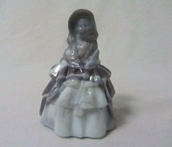 Boyd Glass Colonial Doll Louise # 27 Lavender & Lace B In Diamond - $14.99