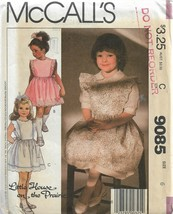 Vintage McCall's Little House on the Prairie Pattern #9085-Child's Sundr... - $5.86