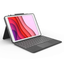 Logitech Combo Touch for iPad (7th Generation) Keyboard case with trackp... - $127.49