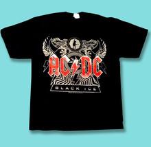 AC DC - 2008 BLACK ICE CONCERT TOUR T-SHIRT *NEW* NEVER WORN / SZ. LARGE - $11.34