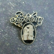 Park City Gold Tone Resorts Travel Skiing Souvenir Vintage Lapel Hat Pin... - $9.99