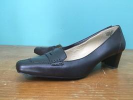 Dockers Leandra Women's Mid Heel Shoes - Size 8 1/2 M - Black Leather - $16.97