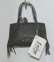 Simply Noelle HB209AG Gray Mommy and Me Collection Childs Fringe Small Purse image 1