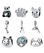 Original Pandora 925 Sterling Silver Charm Bead Love Pets Dog Cat Bracel... - $6.75+