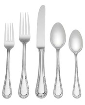 Venetian Lace by Lenox Stainless Steel Flatware Set Service for 6 New 30... - $239.00