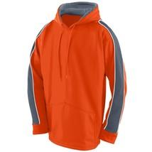 Augusta 5524 Youth Zest Hoody - Orange/Graphite/White - $26.11