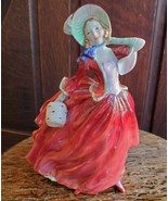 Royal Doulton Autumn Breezes Figurine Vintage Bone China HN1934 Rd No 83... - $89.99
