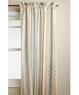 "Whitfield Stripe Curtain Panel, 52"" wide by 63"" long, Buttercream, Lorraine - $16.99"