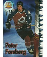 1997-98 Pacific Slap Shots Die-Cuts #2A Peter Forsberg (1:73)! - $7.99