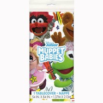 Disney Muppet Babies Sesame Street Plastic Table Cover 1 Per Package New - $6.88