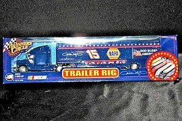 Blue Michele Wally #15 Die-Cast Collector Trailer Rig Winner's Circle AA19-NC80 image 2