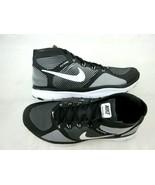Nike Mens Free Train Instinct Mid Top Training Shoes Black White Volt Si... - $89.09