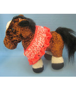 Pet Ruffle Collar Dog Cat Peach/White Small Handmade Crochet by Bren - $17.00