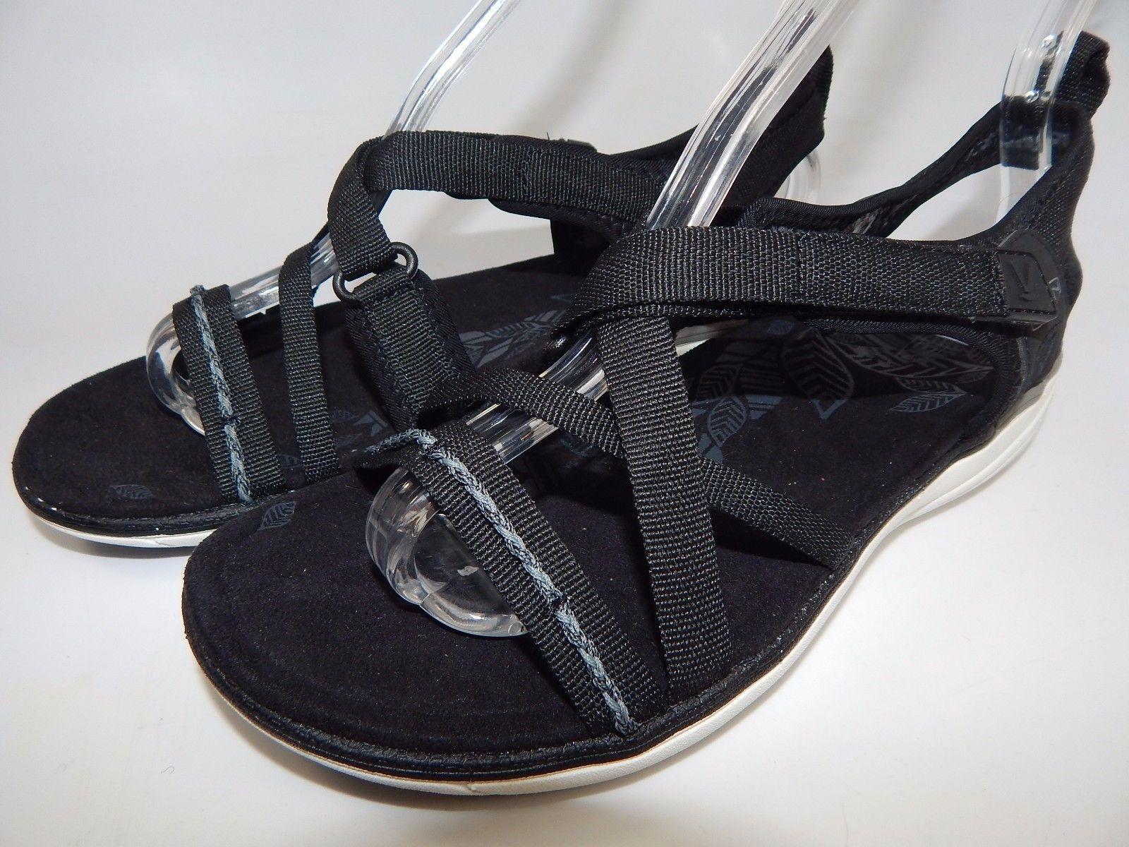 Keen Maya Strap Women's Sports Sandals Sz US 7 M (B) EU 37.5 Black Gargoyle