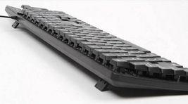 Zio K1100 Korean English Keyboard USB Wired Membrane Keyboard with Cover Skin image 7