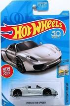 NEW 2018 Hot Wheels Porsche 918 Spyder 184/365 HW Factory Fresh 2/10 - $5.45