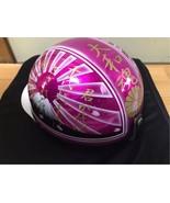 Japanese Bosozoku Helmets #3 Mt.Fuji half Helmet Cherry blossoms - $512.10