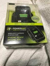 Powermat Wireless Charging Charger Apple iPhone 3G/3GS Dock/Mat+Case for NEW
