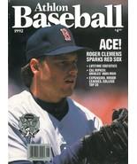 Roger Clemens unsigned Boston Red Sox Athlon Sports 1992 MLB Baseball Pr... - $10.00