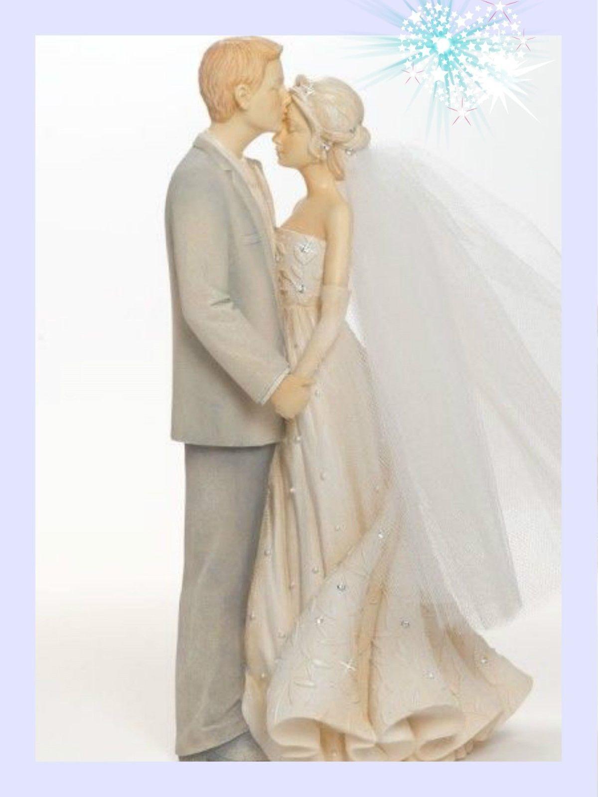 Enesco FOUNDATIONS Figurine BRIDE & GROOM Couple Statue ...