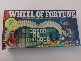 Wheel Of Fortune 1984 Vintage Board Game By Pressman Used - £9.44 GBP