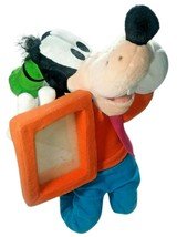 """DISNEY 13"""" Plush GOOFY Picture Frame Holder 4x3 Photo Adjustable Mickey Mouse - $13.55"""