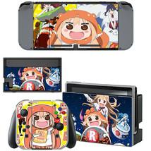 Nintendo Switch Joy-Con Dock Vinyl Skin Decals Stickers Himouto! Umaru-chan Cute - $8.71