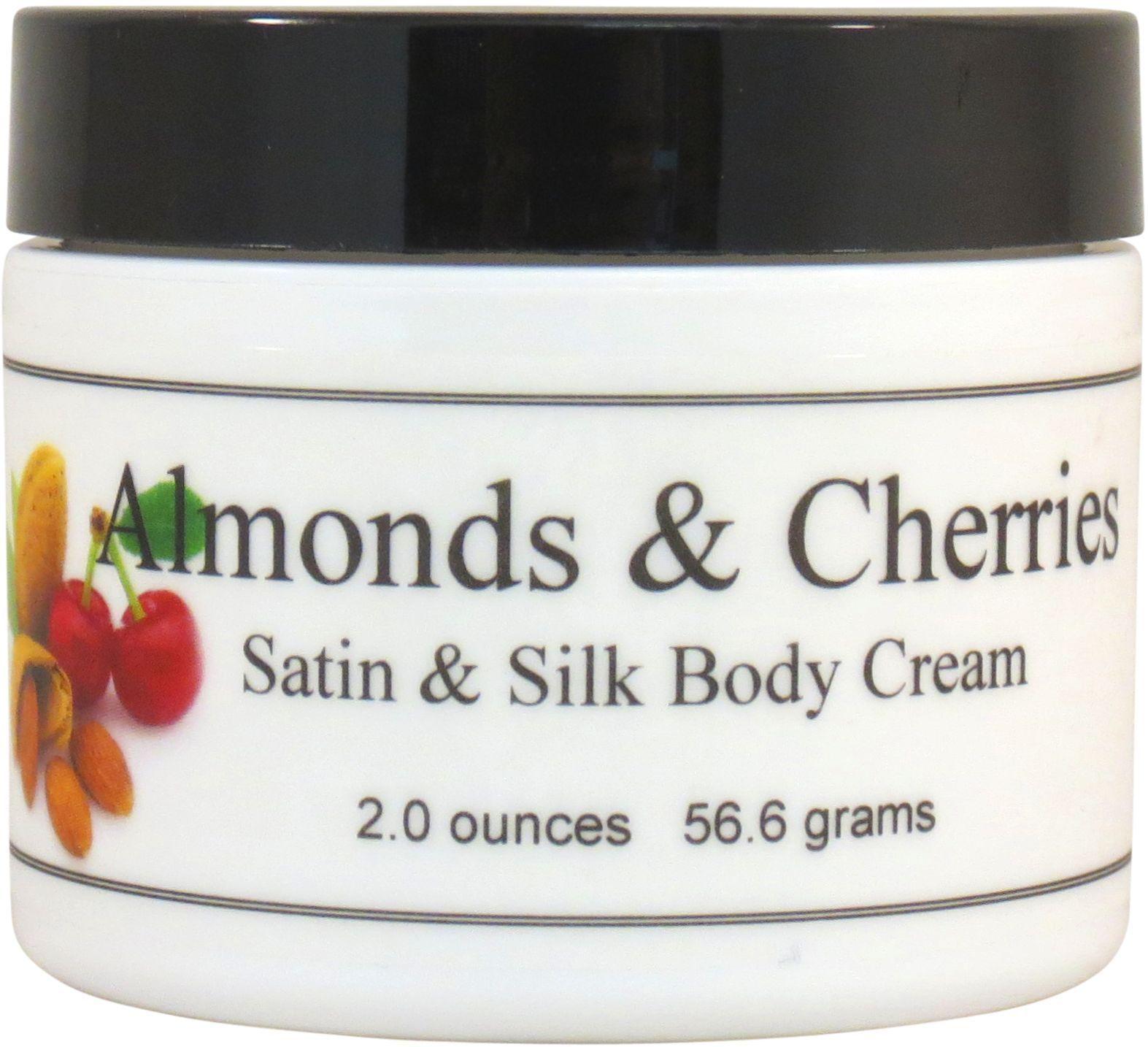 Almonds and Cherries Satin and Silk Cream