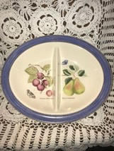 "Wedgwood Sarah's Garden Oval 12"" Divided Serving Bowl - $49.50"