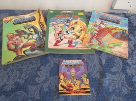 Lot of 3 Vtg Masters of the Universe He-Man MOTU Coloring Activity Book 80s - $24.85