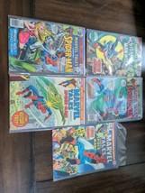 mixed lot of copper age Marvel Spider-Man comics Tales, Team Up, Sensational - $34.65